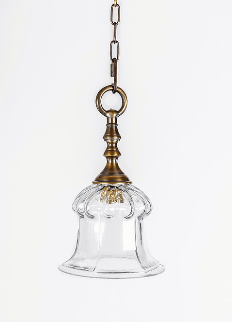 מנורת תלייה זכוכית - עדינה
