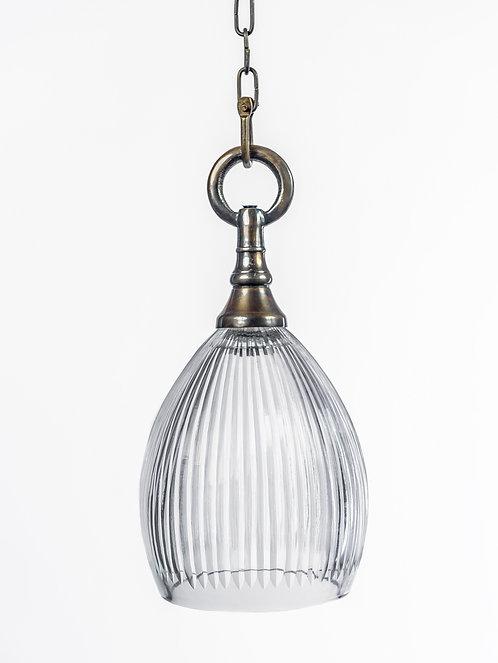 מנורת תלייה זכוכית -אמוץ