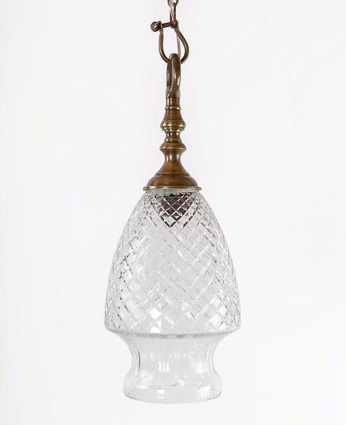 מנורת תלייה זכוכית - עיטם