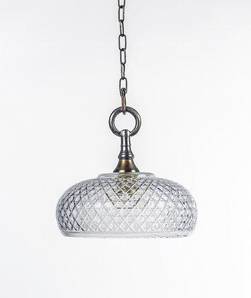 מנורת תלייה זכוכית -לריסה
