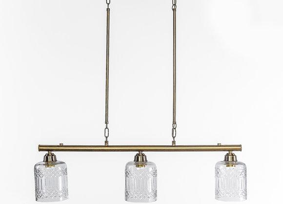 מנורת תלייה צינור - אדר