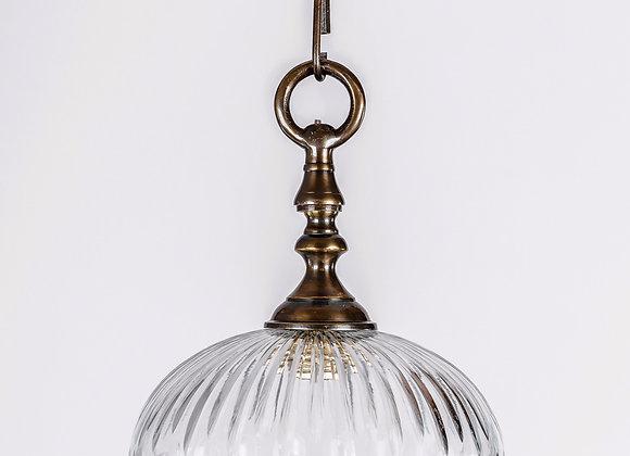 מנורת תלייה זכוכית - עדן