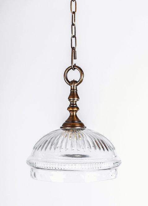 מנורת תלייה זכוכית - עלמה