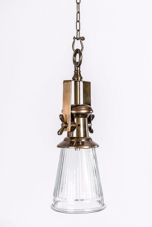 מנורת תלייה זכוכית - רזיאל