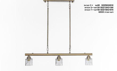 מנורת תלייה צינור - דורין