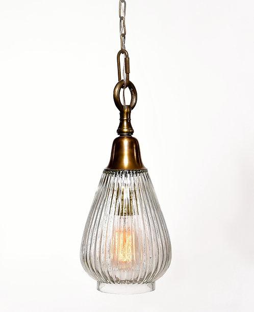 מנורת תלייה זכוכית - אביעד