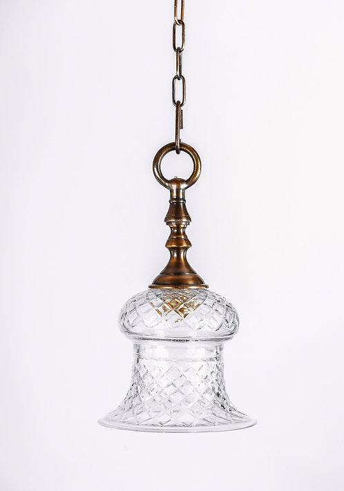 מנורת תלייה זכוכית - נדיה