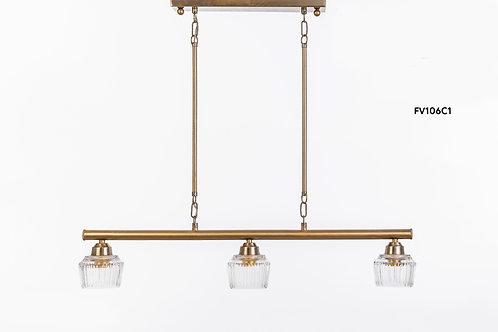 מנורת תלייה צינור - שניר