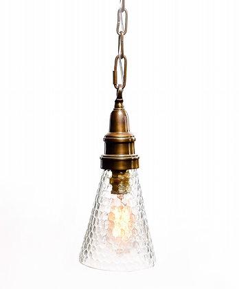 מנורת תלייה זכוכית - אביהו