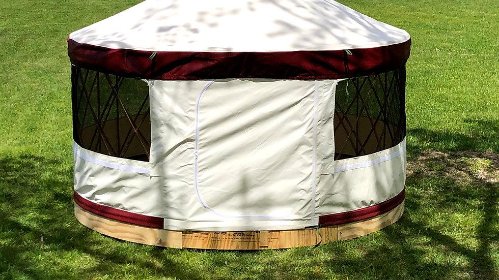 UpYurt 16-foot Camping Yurt Package