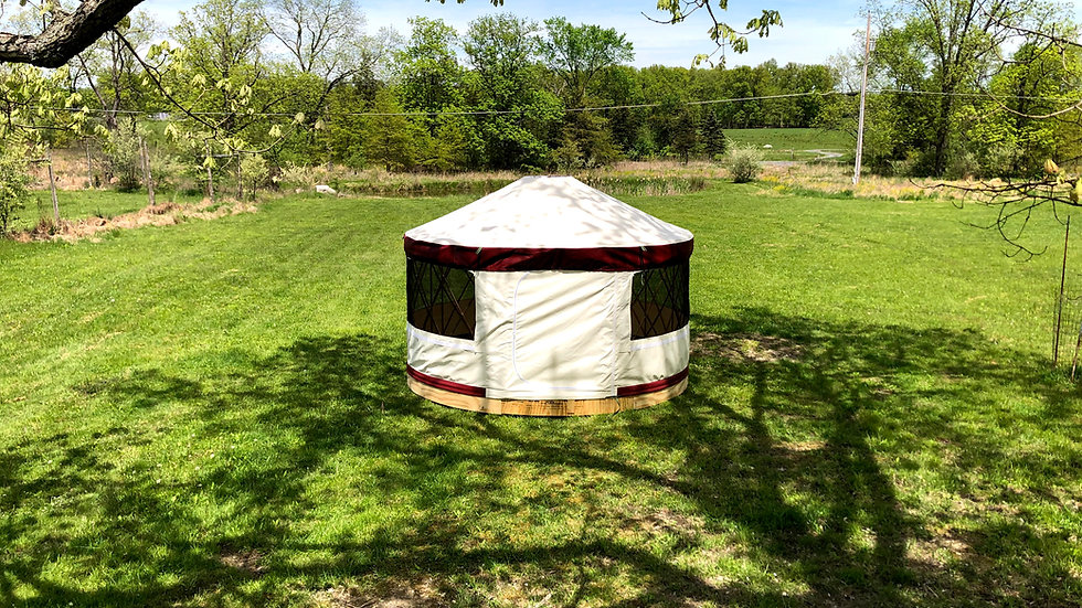 UpYurt 12-foot Camping Yurt Package
