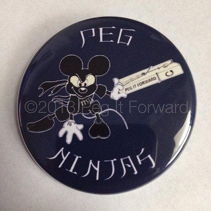 Mickey Peg Ninja Button