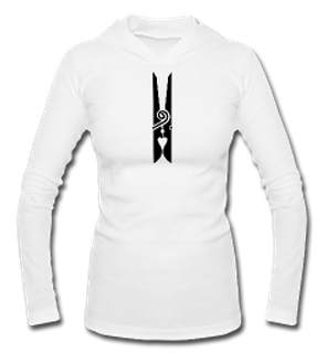 PIF Ladies' Peg Pendant Hooded Tee