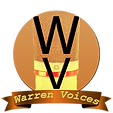 Warren Voices Logo Sans-serif Yellow Ban