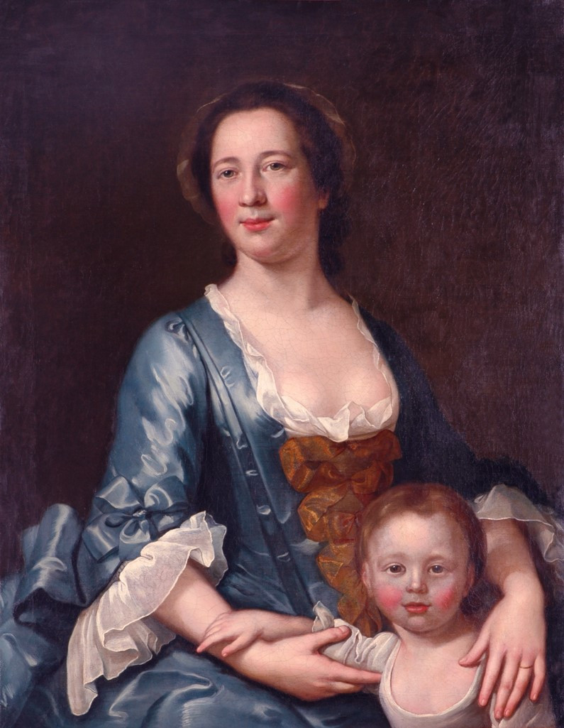 A British 18th Century family portrait