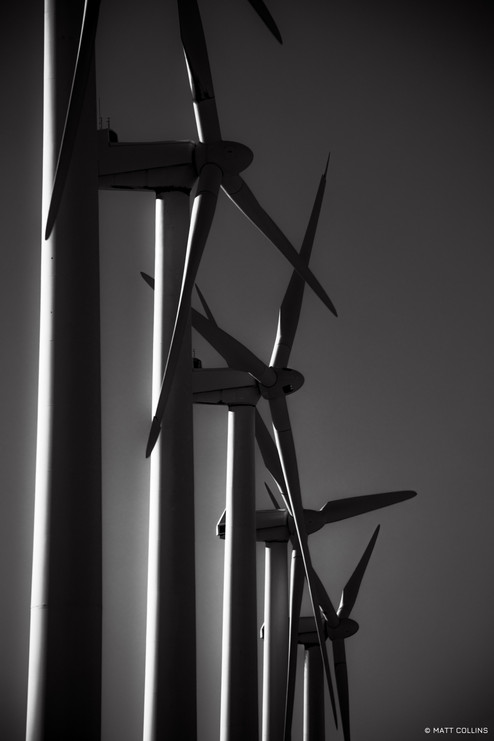 San Gorgonio Pass wind farm, Palm Springs
