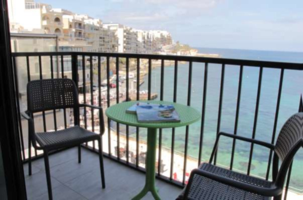 Studio Marsalforn Promenade Balcony 2
