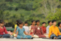 Children yoga Isha