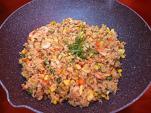 REBEKAH'S QUICK FIX FRIED RICE