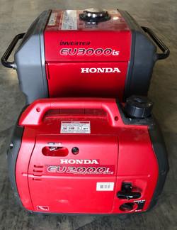 Honda EU 2000i and Honda EU3000is