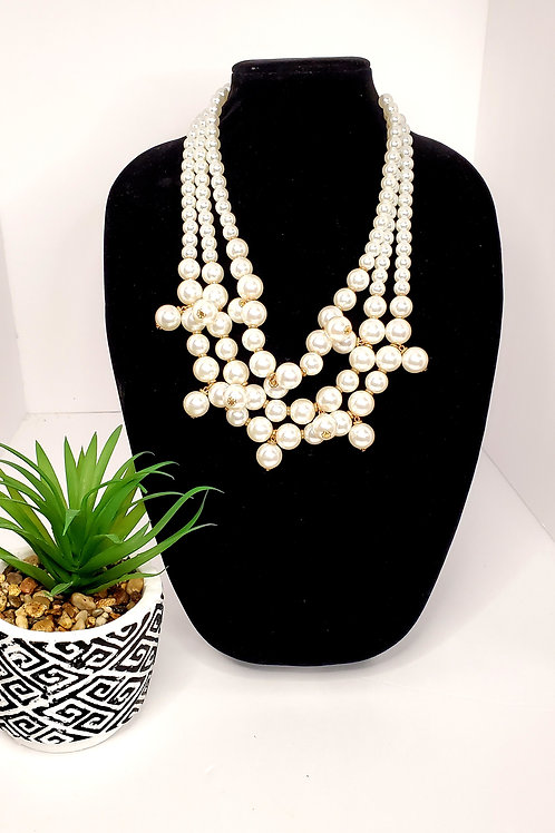 The Pearlie... Statement Necklace