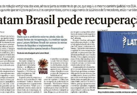"Ricardo Fenelon Jr. comenta entrada da Latam Brasil no ""chapter 11"" nos EUA ao Correio Braziliense"