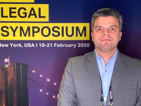 Ricardo Fenelon Junior participa do IATA Legal Symposium em Nova York