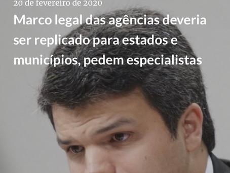 Entrevista sobre Direito Regulatório para a Agência iNFRA