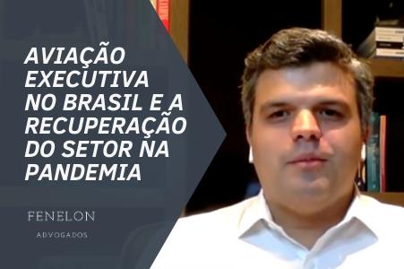 Ricardo Fenelon fala à Jovem Pan sobre a aviação executiva no Brasil e recuperação do setor