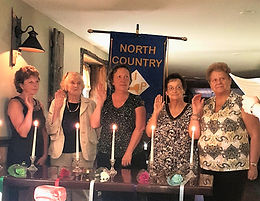 North Country Installation of Officers