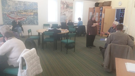 Community space where many of our volunteers and beneficaries meet