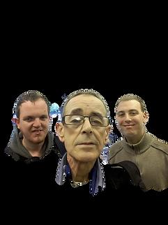 The Three Muskateers  - Digital Befrienders