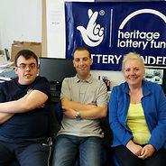 Mathew, Mart and Vicki volunteer Online Chums