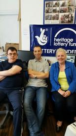 Vicki Mathe & Mart team shop Heritage Lo