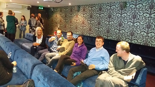 Digital Befrienders celebrating production of Stopping The Trolls video made in conjunction with BBC