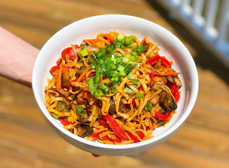 Spicy Wok Noodles recipe