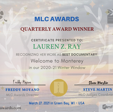 WINNER - BEST DOCUMENTARY WINTER EDITION (Green Bay, Wisconsin)