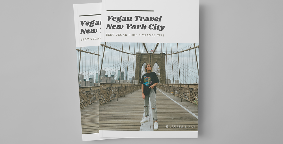 New York City Vegan Travel Guide