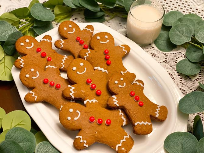 Vegan Gingerbread Cookies & Egg Nog recipes