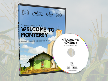 'Welcome to Monterey' DVD is NOW AVAILABLE!