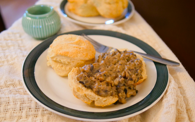 Vegan Biscuits Recipe