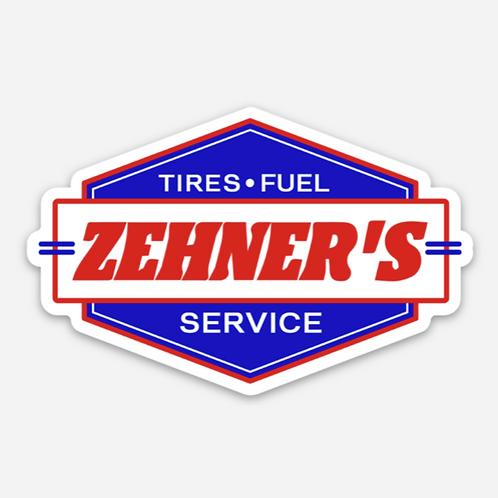 ZEHNER'S SERVICE STICKER