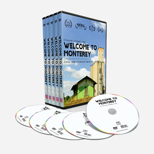 'WELCOME TO MONTEREY' (5) DVD BUNDLE