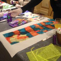 EAE Silk Scarf Workshop