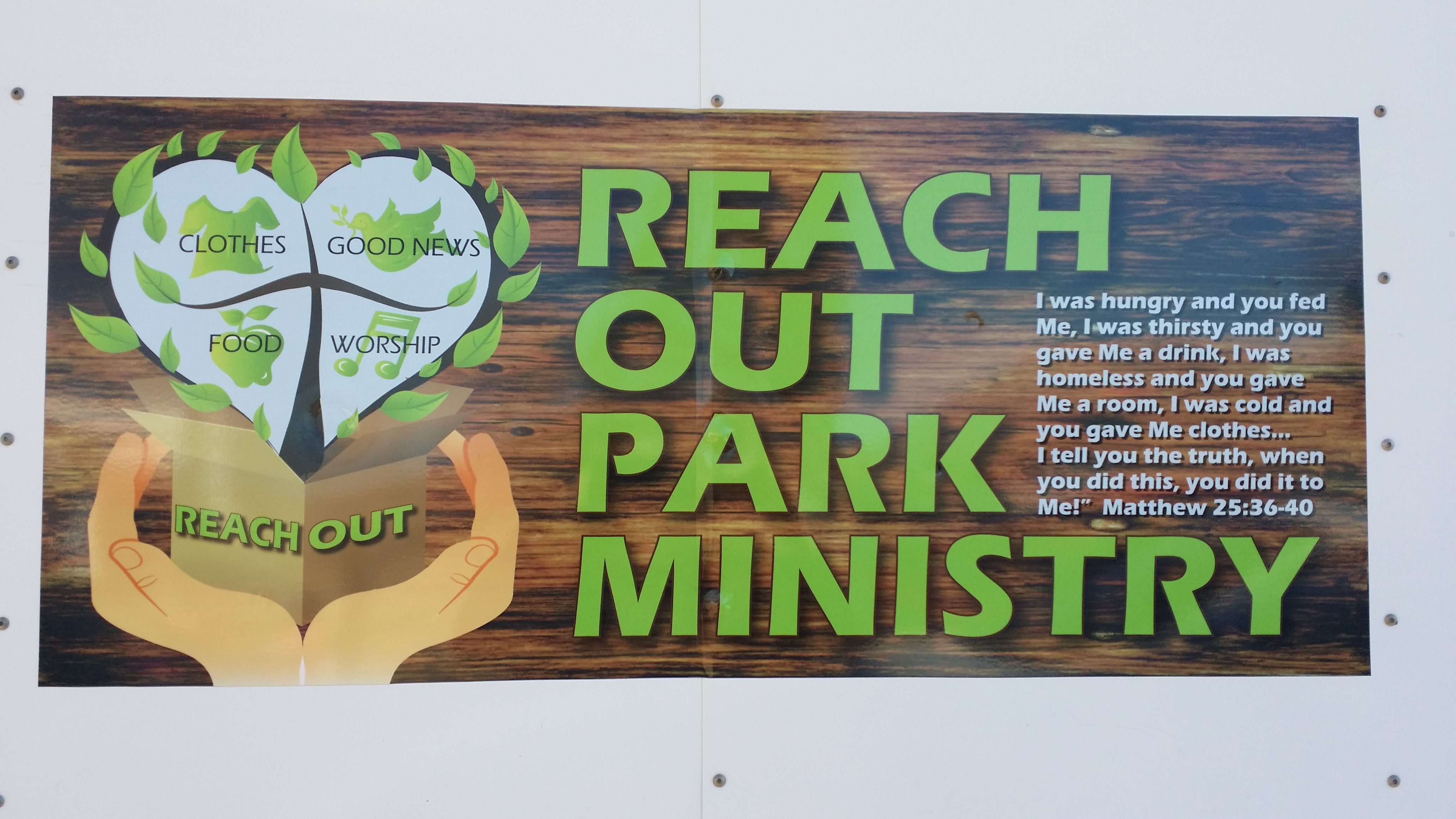 Reach Out Park Ministry