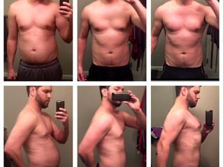Dan Barnhart 3 & 6 Month Progress