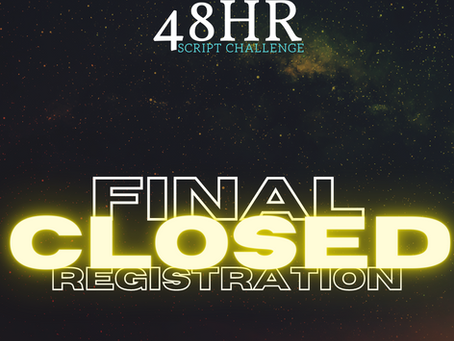 FINAL REGISTRATION CLOSED