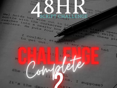 CHALLENGE 2 COMPLETE