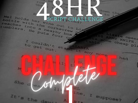 CHALLENGE 1 COMPLETE