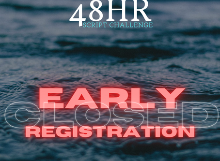 EARLY REGISTRATION CLOSED